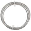 Artistic Wire - Braid 10ga Round Non-tarnish Silver 2.5ft